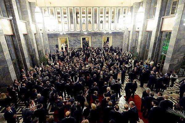 Meclis açılışının 94. yılını resepsiyonla kutladı