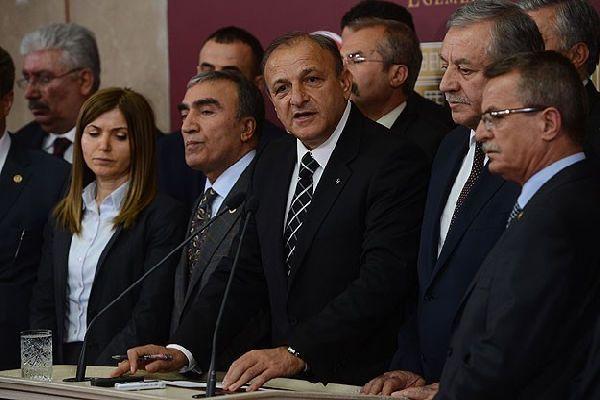 Vural, 'Meclis Başkanlığı'na ayrı ayrı başvuracağız'