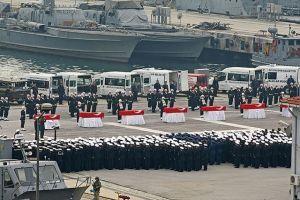 'Römorkör' şehitleri için askeri tören düzenlendi