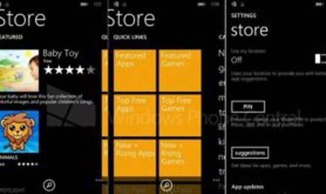 Windows Phone 8.1'in mağazası sızdı