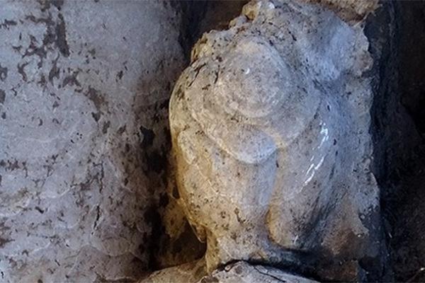 Bu antik heykel Mısır'da bulundu