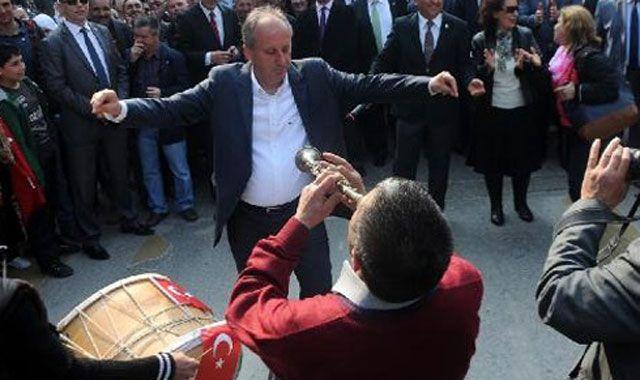 CHP Yalova'yı kazanınca Muharrem İnce göbek attı