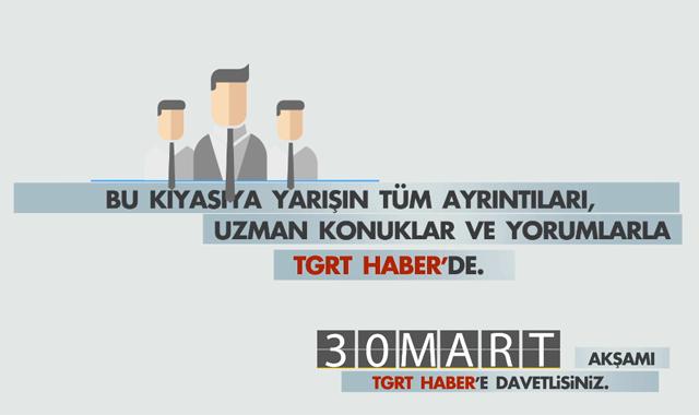 30 Mart Yerel Seçimleri'nin nabzı TGRT Haber'de