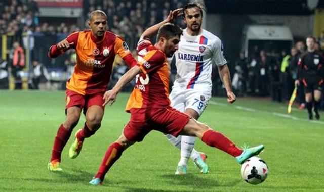 Galatasaray Karabük'te 1 puana razı oldu