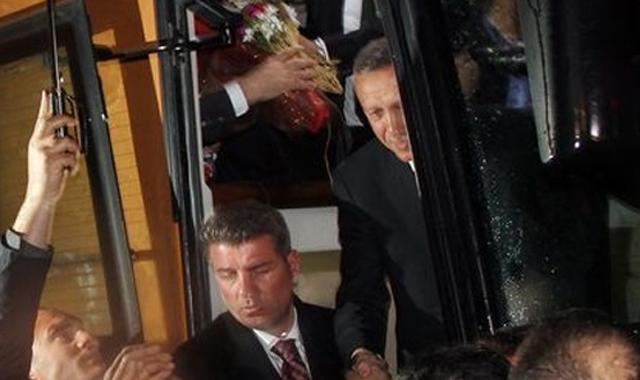 Başbakan Erdoğan'a Rize'de coşkulu karşılama