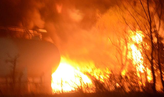 Çerkezköy'de bir fabrikada yangın çıktı