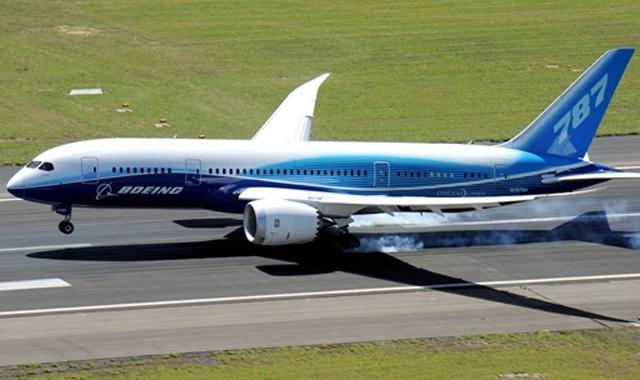 787 Boeing'ler için son rapor