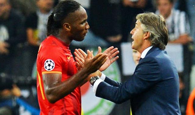 Mancini Drogba'ya cezayı kesti