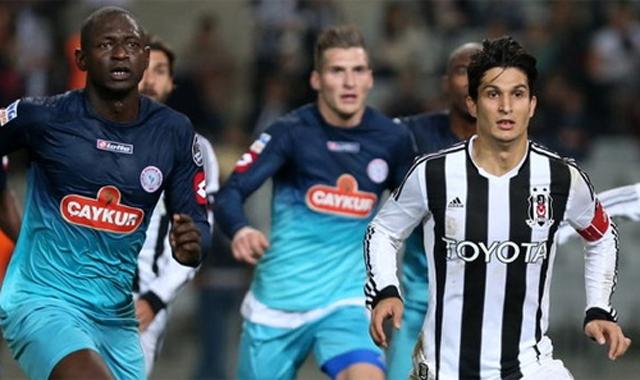 Beşiktaş, Rizespor ile karşı karşıya geliyor