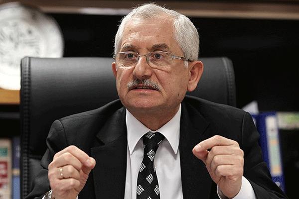 YSK Başkanı açıkladı, 'Seçimlerden sonra yapılan iş yargı görevidir'