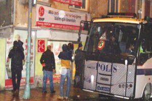 MHP saldırısında 4 kişi gözaltında