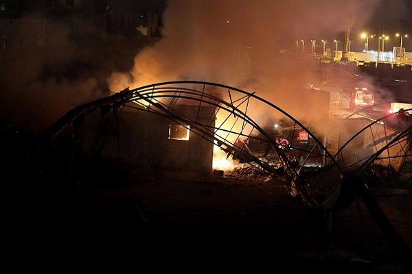 Gazze Şeridi'ne yeni 60'dan fazla füze ve bomba atıldı