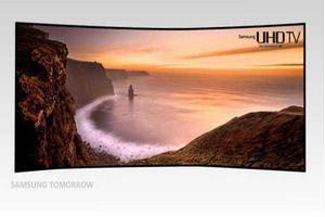 Samsung'tan 105 inç'lik kavisli televizyon