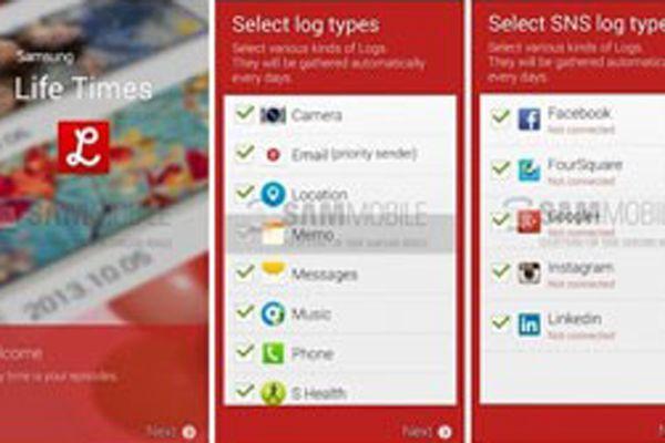 Samsung Life Times uygulaması sizi arşivleyecek