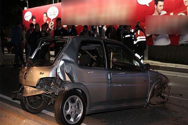 Sarıyer'de feci trafik kazası