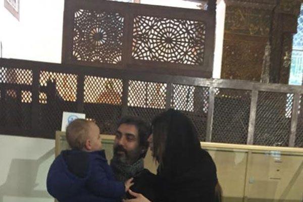 Necati Şaşmaz ve ailesi Şeb-i Arus törenlerine katıldı