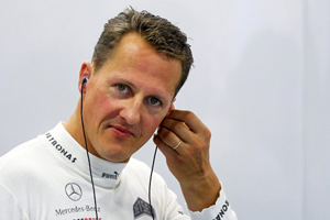 Schumacher hala komada