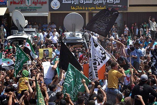 Lübnan'da seçim protestosu