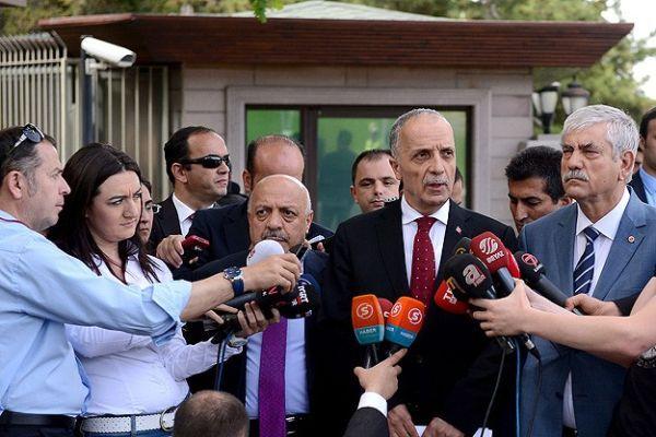 Başbakan Erdoğan sendika başkanlarıyla görüştü