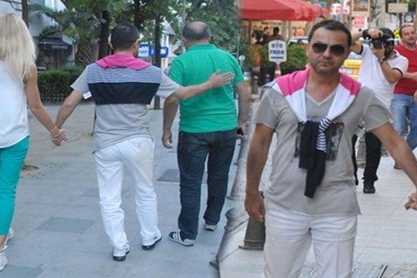 Serdar Ortaç MS hastalığı yüzünden yürümekte zorlandı