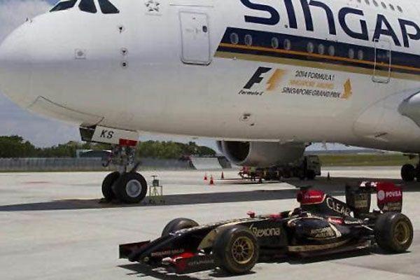 Singapur Havayolları'ndan F1 ile dev anlaşma