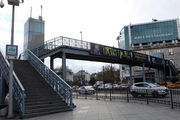 İstanbullu sürücüler dikkat, Sirkeci üst geçidi kaldırılıyor