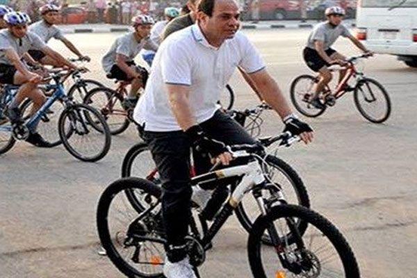 Sisi bisiklet çağrısı yaptı