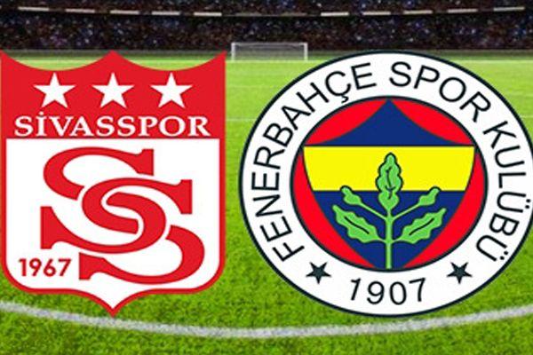 Sivasspor Fenerbahçe maçı muhtemel 11'leri