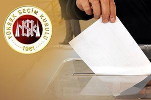 Seçimlere katılabilecek siyasi partiler açıklandı