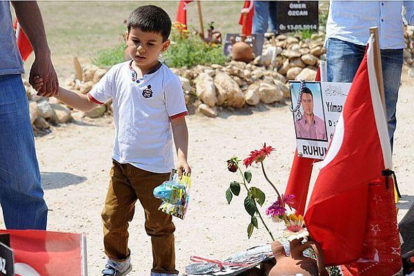 Soma'da en acı 'Babalar Günü'