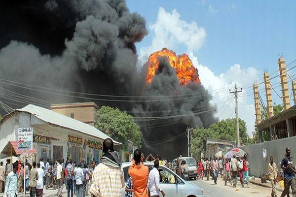 Somali'de patlama, 10 ölü