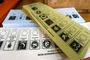 Seçimlerde oy pusulasındaki sıralama belli oldu