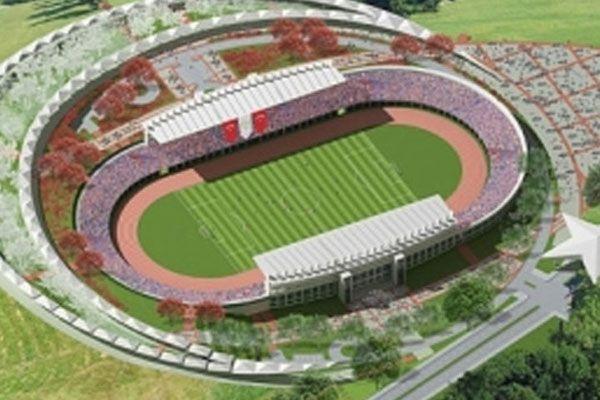Türkiye'nin ilk ayyıldızlı stadı tamamlandı