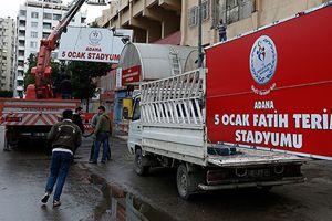 Fatih Terim'in adı Adana'daki 5 Ocak Stadyumu'na verildi