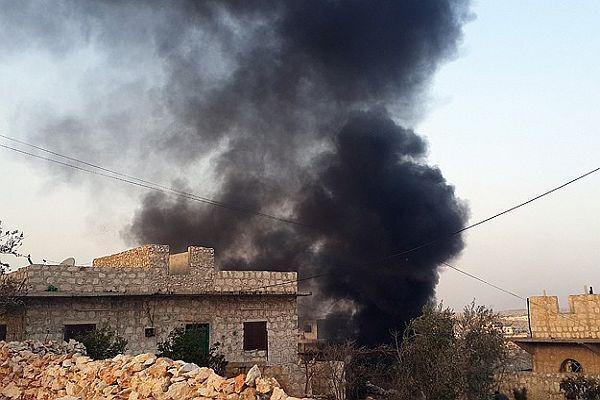 Suriye'de hava saldırısı, 10 ölü