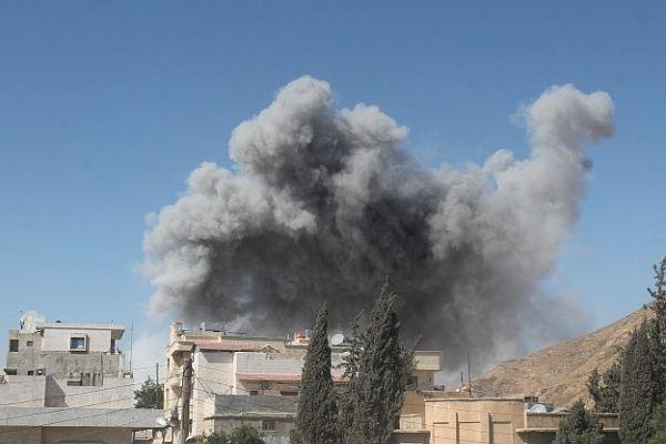 Suriye'den 'Irak'a hava saldırısı' iddiası