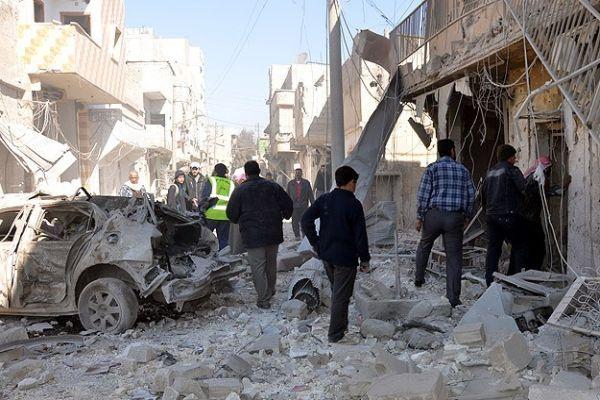Suriye ordusundan hava saldırısı, 30 ölü