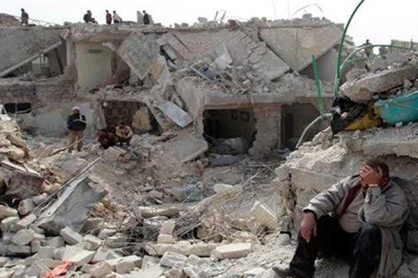 Suriye'de hava saldırısı, 11 kişi öldü