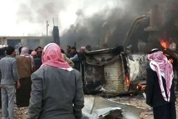 Suriye'de bombalı saldırı, 25 kişi öldü, 107 kişi yaralandı