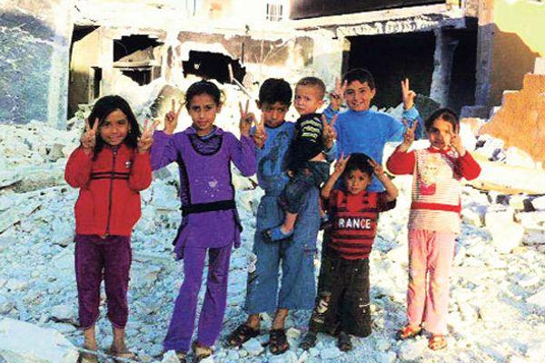 Suriye'de çocuklara da işkence yapmışlar