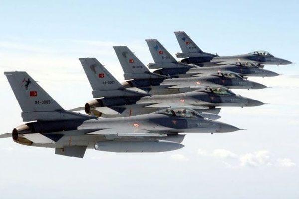 Suriye'den Türk savaş uçaklarına taciz
