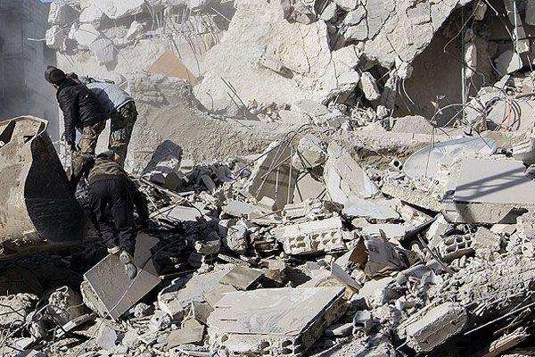 Suriye ordusundan 'vakum bombalı' saldırı