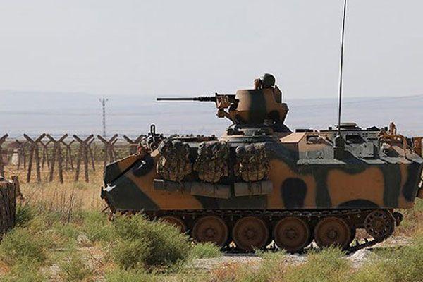Suriye sınırında askeri önlemler arttırıldı