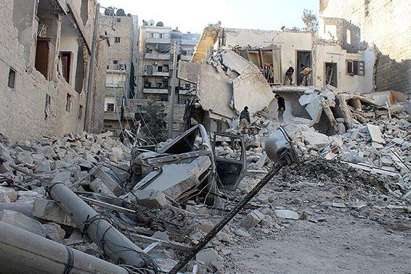 Esad yine varil bombasıyla vurdu, 27 ölü
