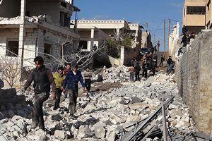 Halep'te varil bombalı saldırı, 10 ölü