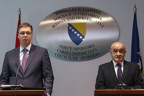 Sırbistan Başbakanından Bosna Hersek'e 'tarihi ziyaret'