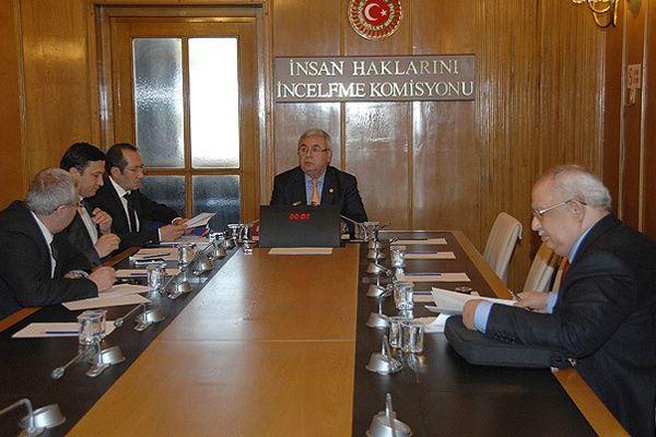 Hozat Alt Komisyonu, taslak raporu kabul etti