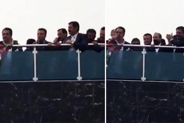 İşte İbrahim Tatlıses ve Şivan Perwer'in yaptığı balkon konuşması - İZLE