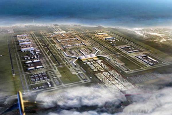 3. havalimanı projesi temel atma töreni