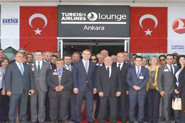 THY 'Turkish Airlines Lounge Ankara'yı da açtı